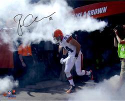 "Jordan Cameron Cleveland Browns Autographed 16"" x 20"" Smoke Photograph"