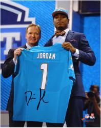 "Dion Jordan Miami Dolphins Autographed 8"" x 10"" NFL Draft Photograph"