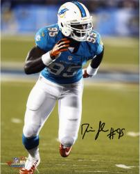 "Dion Jordan Miami Dolphins Autographed 8"" x 10"" Vertical Running Photograph"