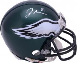 Jordan Matthews Philadelphia Eagles Autographed Riddell Mini Helmet