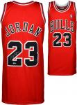Michael Jordan Chicago Bulls Autographed Mitchell & Ness Jersey