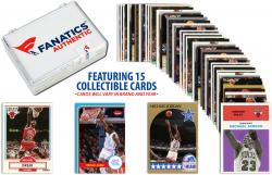 Michael Jordan Chicago Bulls Collectible Lot of 15 NBA Trading Cards - Mounted Memories