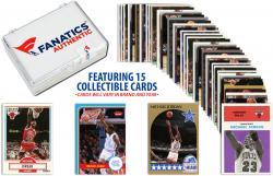 Michael Jordan Chicago Bulls Collectible Lot of 15 NBA Trading Cards