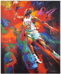 Michael Jordan Chicago Bulls Original Artwork
