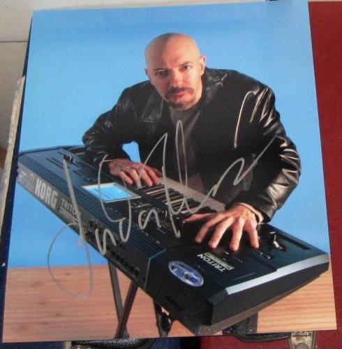 Jordan Rudess Keyboardist Dream Theater Band SIGNED 8x10 Photo COA Autographed