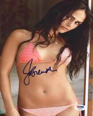 Jordana Brewster Fast & Furious 8 Signed 8X10 Photo PSA/DNA #Y45446
