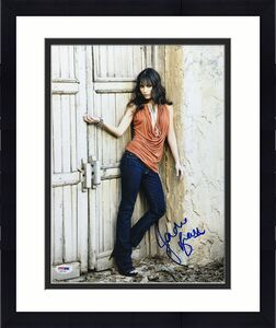 Jordana Brewster Signed 11x14 Photo *Model *Actress PSA AF61743