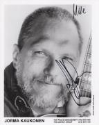 JORMA KAUKONEN HAND SIGNED 8x10 PHOTO+COA      JEFFERSON AIRPLANE      TO MIKE