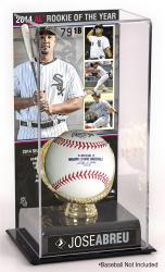 Jose Abreu Chicago White Sox 2014 American League ROY Gold Glove with Image Display Case