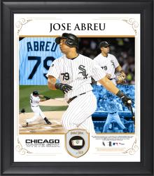 Jose Abreu Chicago White Sox Framed 15'' x 17'' Core Composite Photograph