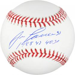 Jose Canseco Oakland Athletics Autographed Baseball with 40/40 Inscription