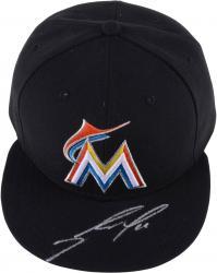 Jose Fernandez Miami Marlins Autographed Black Cap