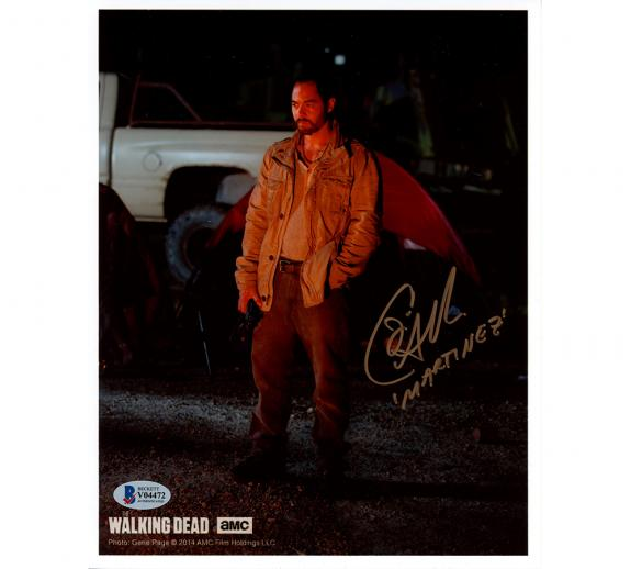 Jose Pable Signed The Walking Dead Unframed 8×10 Photo – with Tent