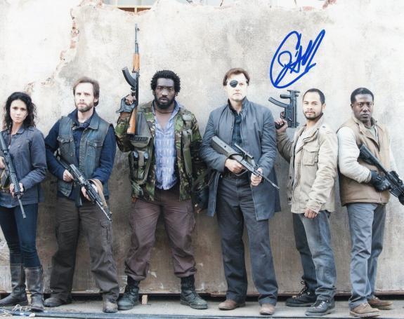 Jose Pablo Cantillo The Walking Dead Caesar Martinez Signed 8x10 Photo w/COA #10