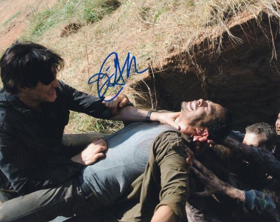 Jose Pablo Cantillo The Walking Dead Caesar Martinez Signed 8x10 Photo w/COA #12