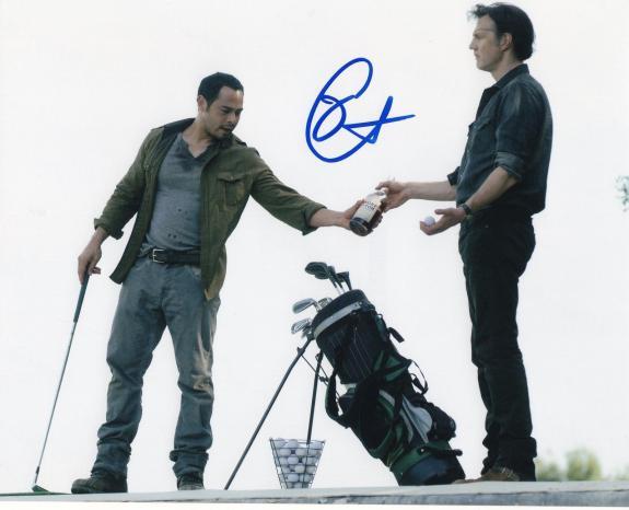 Jose Pablo Cantillo The Walking Dead Caesar Martinez Signed 8x10 Photo w/COA #8