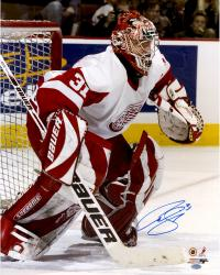 Curtis Joseph Autographed Photo - 16x20 - Mounted Memories