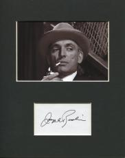 Joseph Ruskin The Twilight Zone Rare Signed Autograph Photo Display
