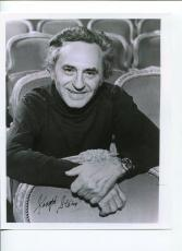 Joseph Stein Fiddler On thr Roof Playwright Author Signed Autograph Photo