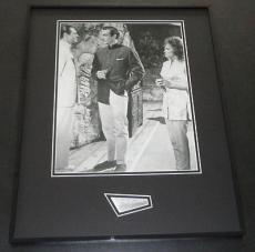 Joseph Wiseman Signed Framed 16x20 Photo Display JSA James Bond Dr No