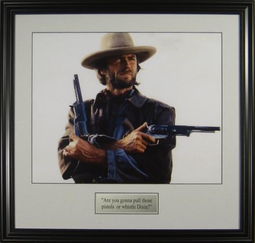 JOSEY WALES Clint Eastwood 16x20 Photo Framed