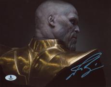 "Josh Brolin Autographed 8"" x 10"" Guardians of The Galaxy Photograph - Beckett COA"