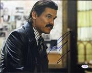 Josh Brolin No Country For Old Men Signed 11X14 Photo PSA/DNA #K63176