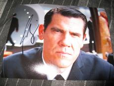 JOSH BROLIN SIGNED AUTOGRAPH 8x10 PHOTO MEN IN BLACK 3 AGENT K WILL SMITH COA D