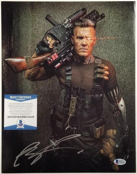 ROB LIEFELD Signed Cable 11x14 Photo Deadpool 2 Auto (C) ~ Beckett BAS COA