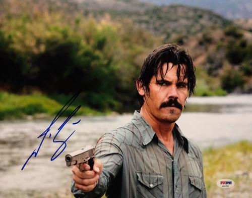 Josh Brolin Signed 'No Country for Old Men' 11x14 Photo PSA AB91235