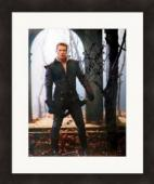 Josh Dallas autographed 8x10 photo (Once Upon A Time Prince Charming David Nolan) #SC1 Matted & Framed