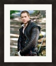 Josh Dallas autographed 8x10 photo (Once Upon A Time Prince Charming David Nolan) #SC2 Matted & Framed
