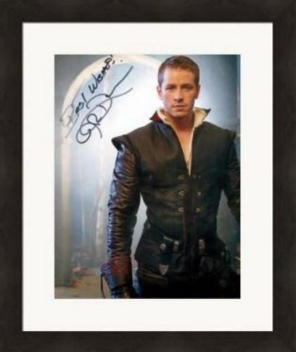 Josh Dallas autographed 8x10 photo (Once Upon A Time Prince Charming David Nolan) #SC3 Matted & Framed
