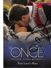 Josh Dallas autographed trading card Once Upon A Time Prince Charming David Nolan 2014 ABC #22