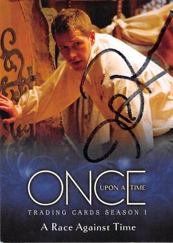 Josh Dallas autographed trading card Once Upon A Time Prince Charming David Nolan 2014 ABC #28