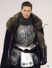 Josh Dallas SIGNED 11x14 Photo Prince Charming Once Upon A Time PSA/DNA