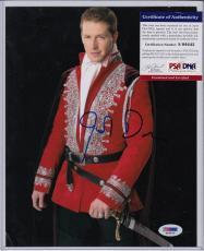Josh Dallas Signed Autograph Auto 8x10 Psa Dna Certified