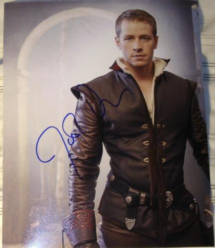 """Josh Dallas Signed Autograph """"once Upon A Time"""" Prince Charming Poster Photo Coa"""