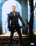 Josh Dallas Signed Autographed 11X14 Photo Once Upon a Time PSA U36273