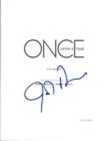 Josh Dallas Signed Autographed ONCE UPON A TIME Pilot Episode Script COA