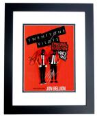 Josh Dun and Tyler Joseph Signed - Autographed Twenty One Pilots 11x14 inch Photo BLACK CUSTOM FRAME - Guaranteed to pass PSA/DNA or JSA
