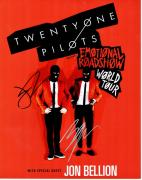 Josh Dun and Tyler Joseph Signed - Autographed Twenty One Pilots - 21 Pilots 11x14 inch Photo - Guaranteed to pass JSA
