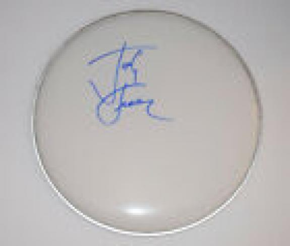 "Josh Freese Signed Autograph 12"" Drumhead Guns N Roses Nine Inch Nails COA"
