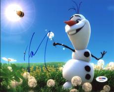 Josh Gad Frozen Signed 8X10 Photo Autographed PSA/DNA #X20843