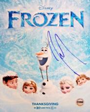 Josh Gad Olaf  Autographed Signed 8x10 Photo FSG Authenticated