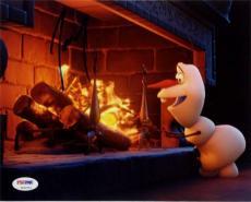 Josh Gad Olaf Signed Disney Frozen 8x10 Photo ITP PSA Pic Proof Q