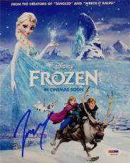 Josh Gad Olaf Signed Disney Frozen 8x10 Photo ITP PSA Pic Proof S
