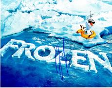 Josh Gad Signed - Autographed FROZEN 11x14 inch Photo - Guaranteed to pass PSA or JSA - Voice Actor who played Olaf