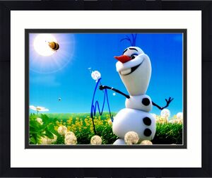 Josh Gad Signed - Autographed FROZEN 8x10 inch Photo - Guaranteed to pass BAS - Actor who played Olaf