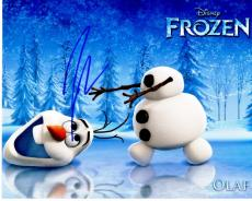 Josh Gad Signed - Autographed FROZEN 8x10 inch Photo - Guaranteed to pass PSA or JSA - Actor who played Olaf